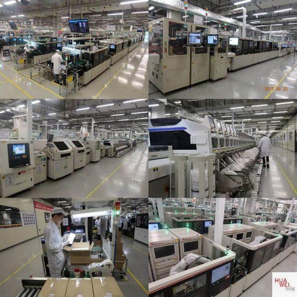 HUAWEI Reise_Production Line