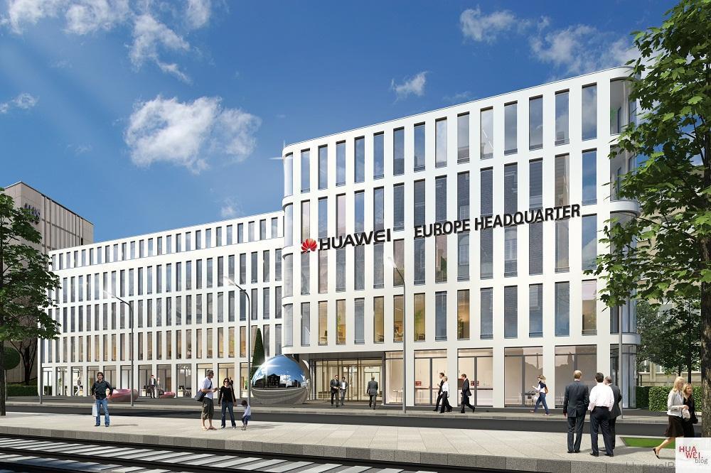 Render Huawei Headquater Europe