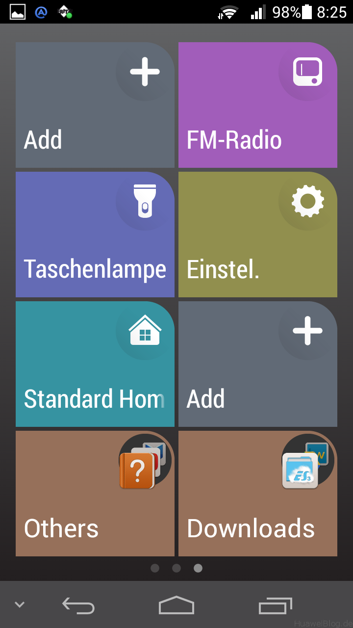 Huawei Simple Home Launcher