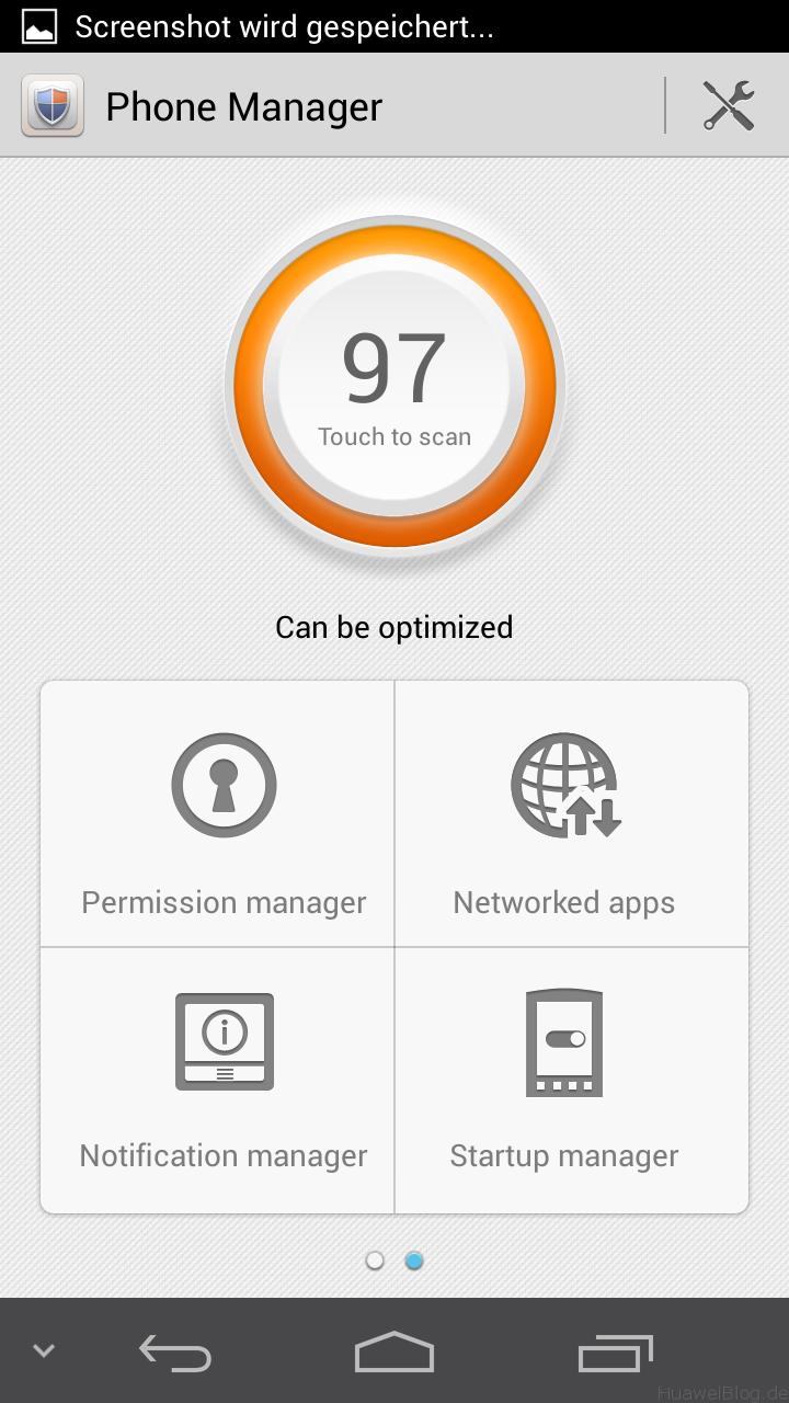 Huawei Emotion UI Phone Manager