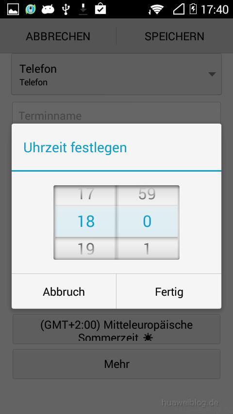Huawei_Y530_KalenderTermin