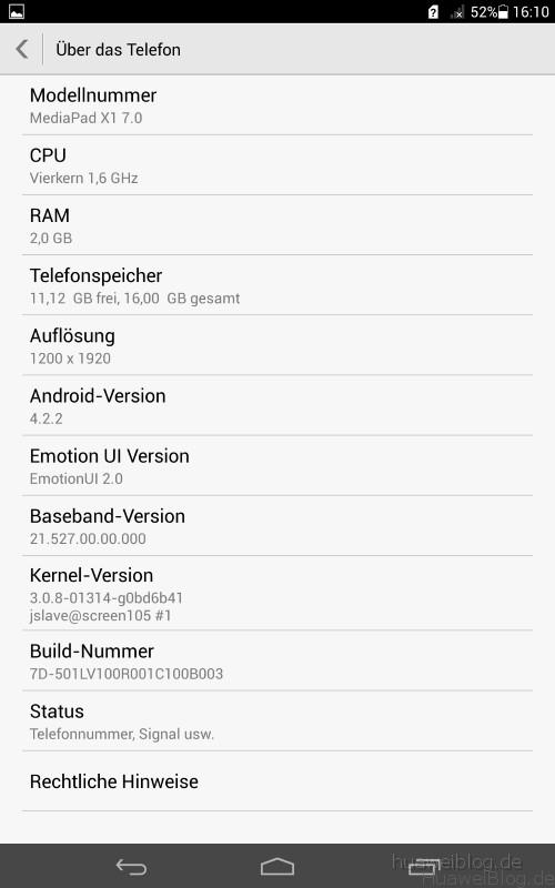 Huawei Mediapad X1 im Test