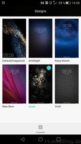 Huawei P8 - Designs