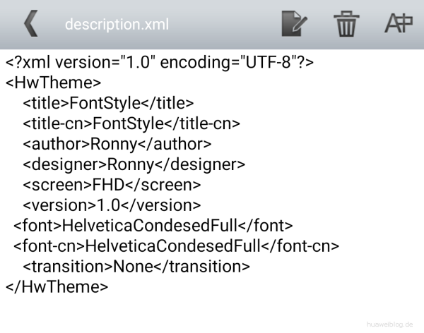 EMUI - description.xml - Inhalt