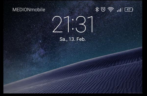 EMUI - Hintergrund - Smart Cover - Sterne