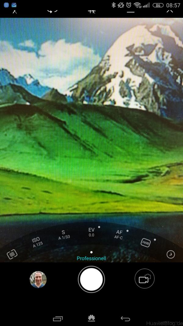 Huawei Mate 8 Kamera Promodus