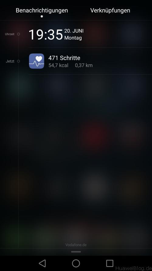 Huawei P9 Lite - Test - Schrittzähler