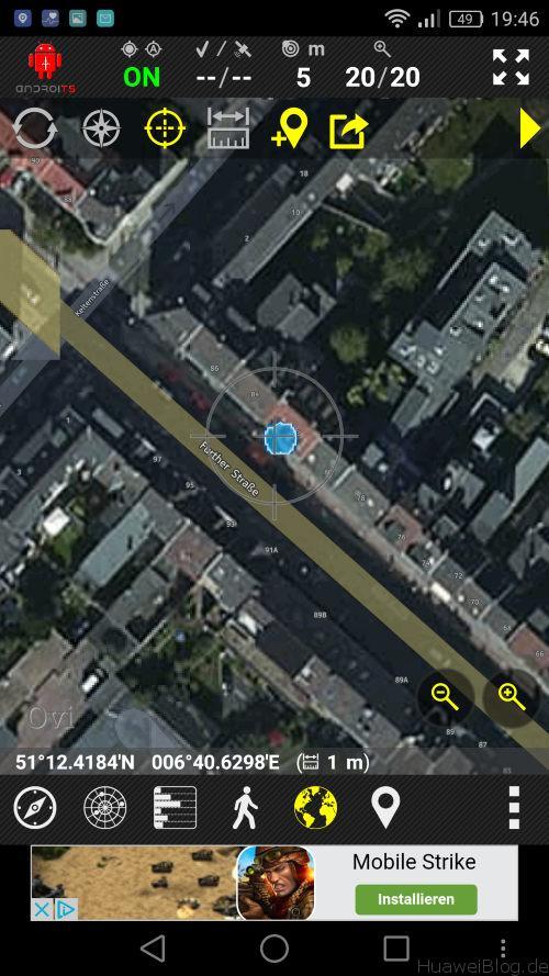 P9 Lite Test - GPS Test