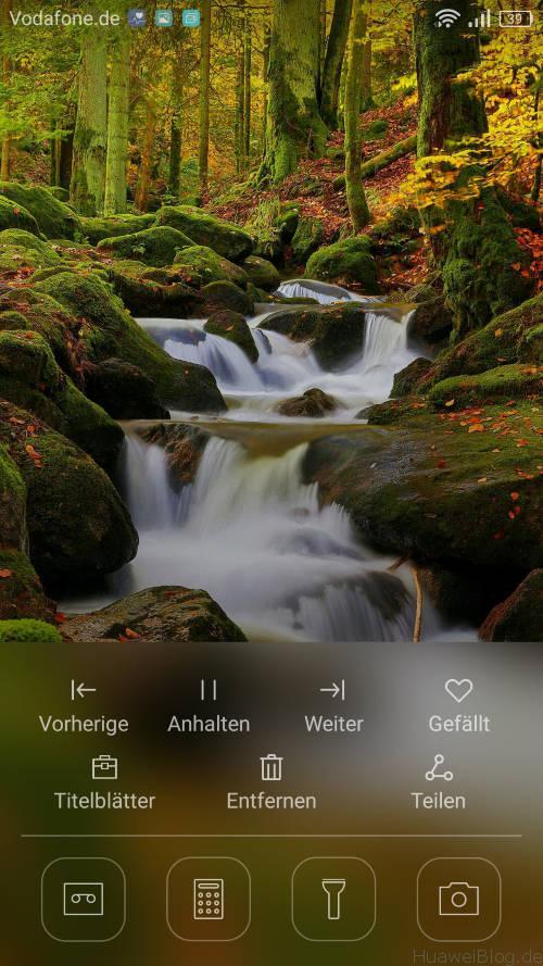Huawei P9 Lite - Langzeittest - Sperrbildschirm