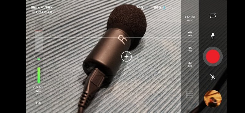 Shure MV88+ Video Kit Motiv Video App