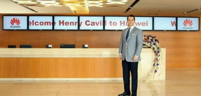 Huawei P9 - Ad campagne - Henry Cavill