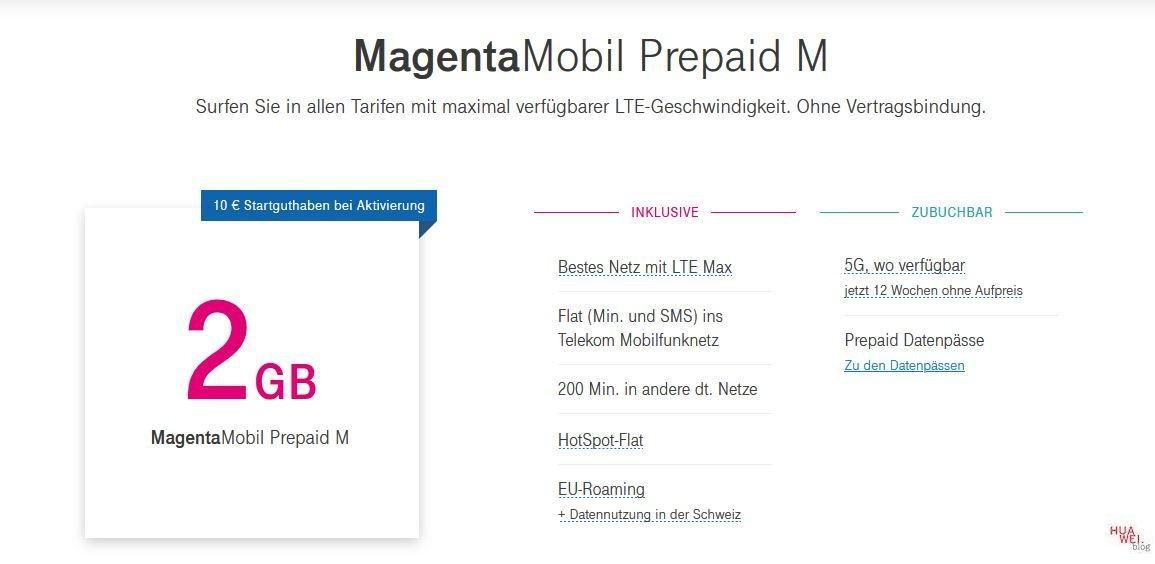 Magenta Mobil Prepaid M