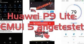 Titelbild Huawei P9 Lite EMUI 5