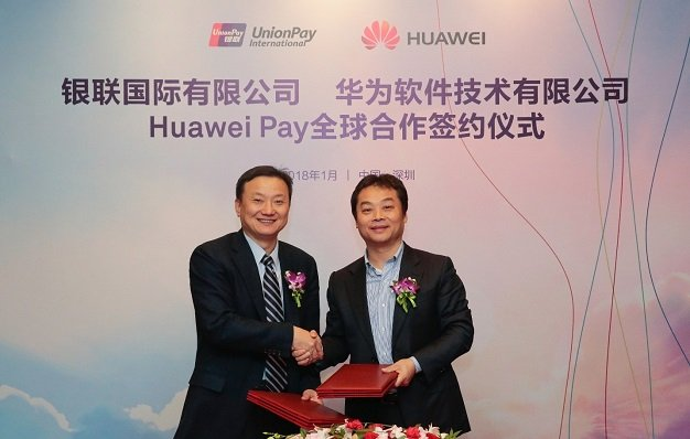 Huawei Pay Rollout
