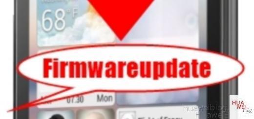 Huawei Firmware Update
