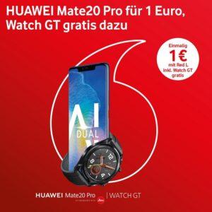 Mate 20 Pro bei Vodafone mit gratis Watch GT 2