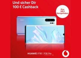 Vodafone Cashback Aktion für das P30 und P30 pro