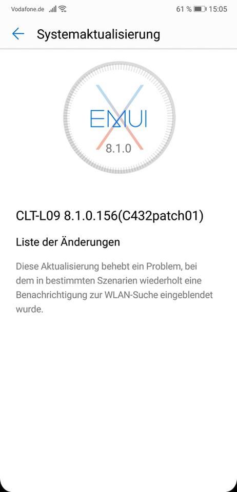WLAN_Bugfix_HUAWEI_Fehlermeldung
