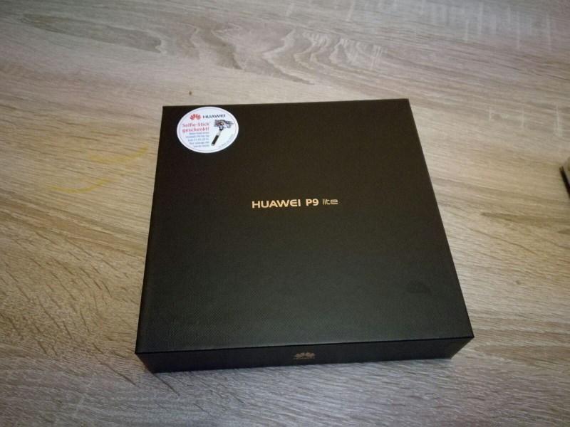 Huawei P9 Lite Test Original Verpackung geschlossen