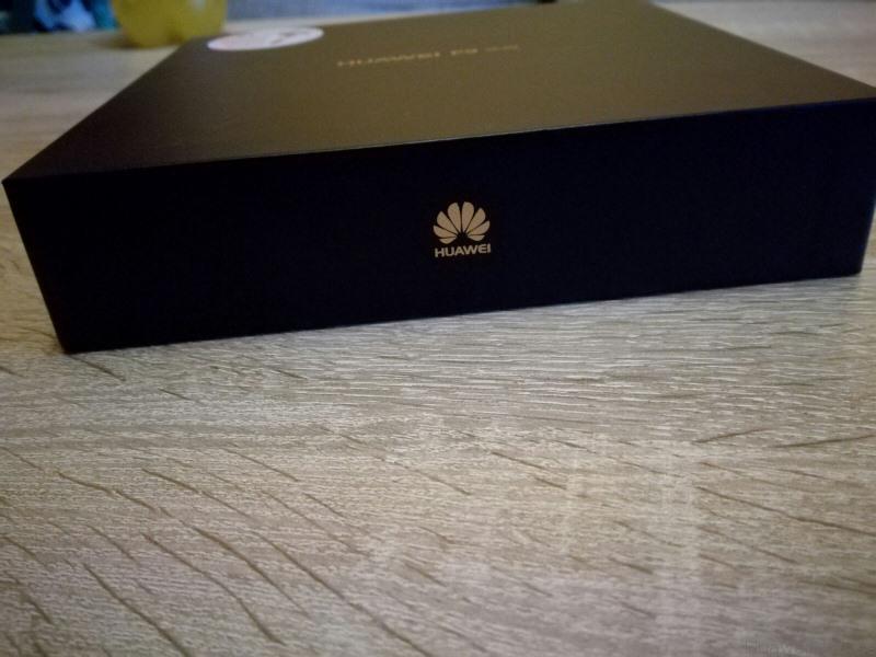 Huawei P9 Lite Test Original Verpackung von vorne