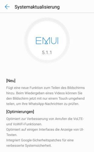 Huawei P10 Lite Firmware Update B204