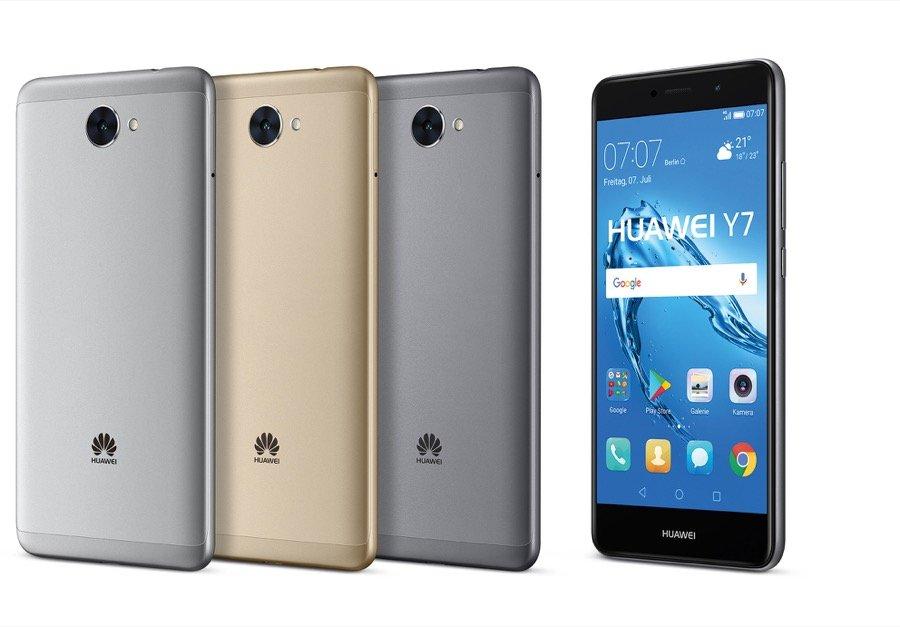 Huawei Y7 alle Farben