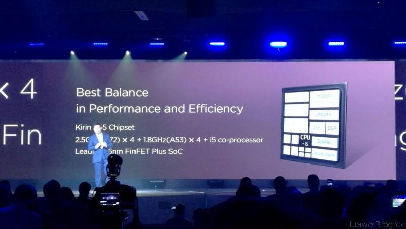 Huawei P9 - Präsentation - London - Kirin 955 Chipset