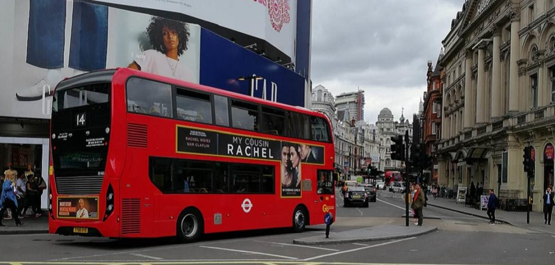 Piccadilly Circus Reisebericht Banner