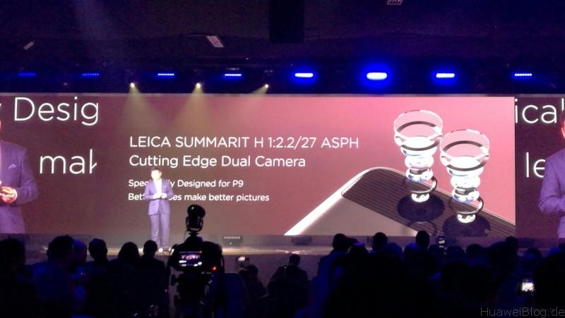 Huawei P9 - Präsentation - London - Leica Summarit