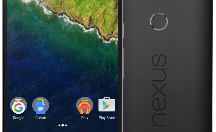 Huawei Nexus 6P Graphit Pressebild