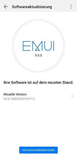 EMUI 9 Update P20