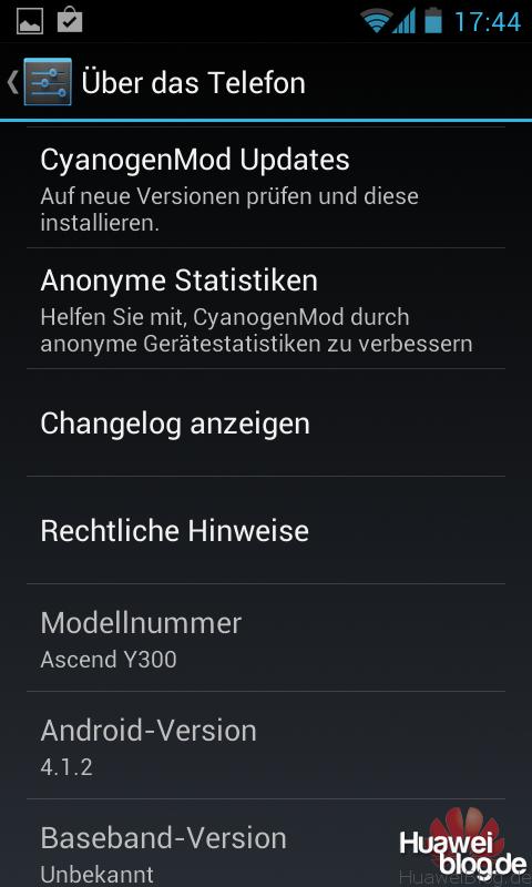 Huawei Ascend G330 - CyanogenMod 10