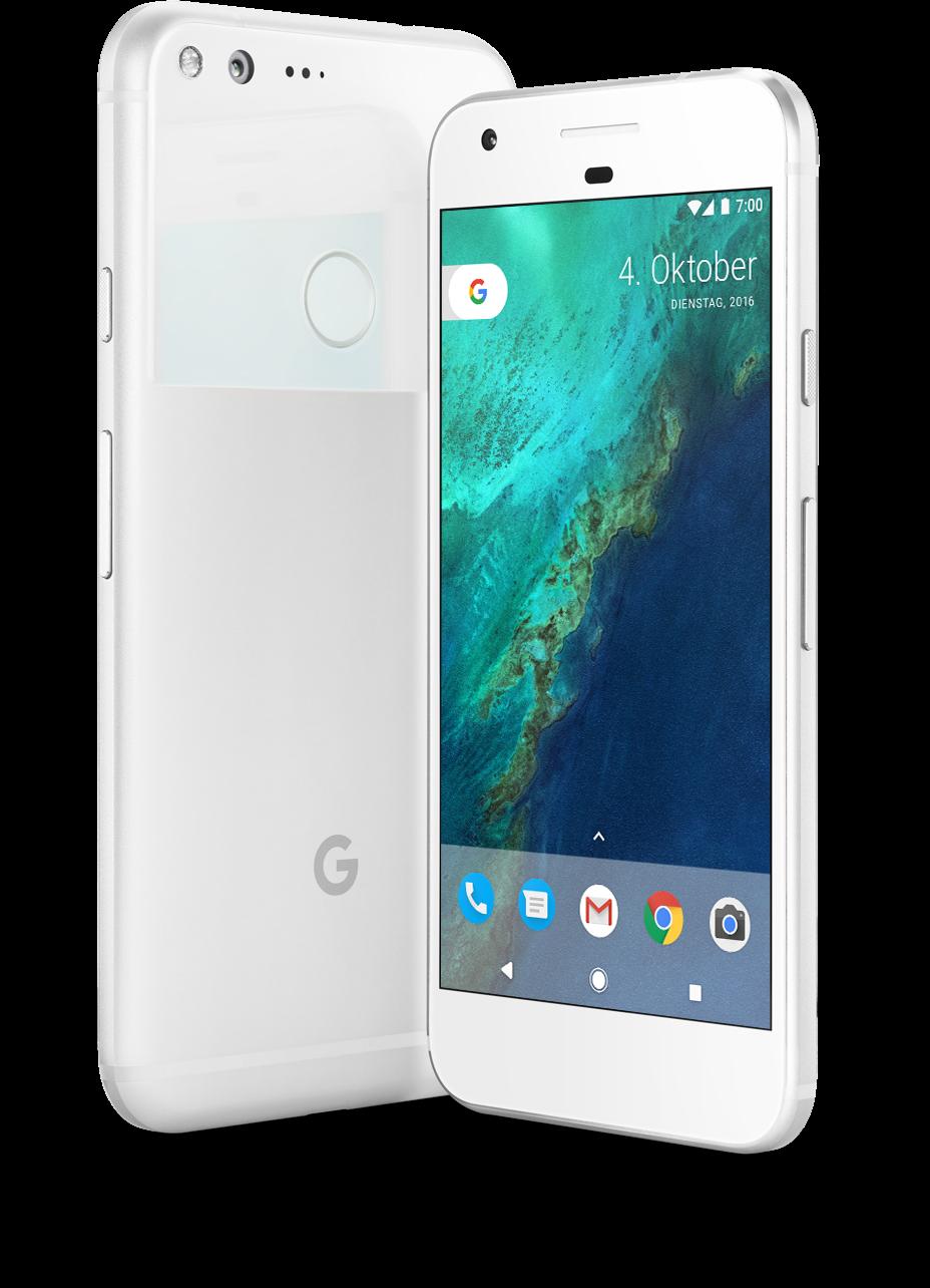 google pixel vorderseite