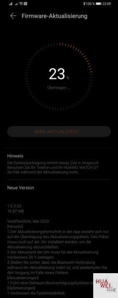 Huawei Watch GT 2e erhält Update mit neuer Funktion und besserer Systemstabilität 1