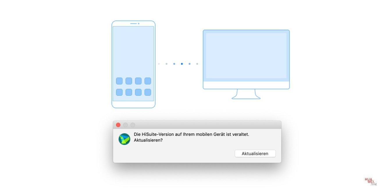 HiSuite am Mac bekommt Update - Endlich Backup möglich