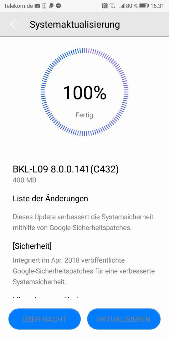 honor_view_10_firmware_update_bkl_l09_8_0_0_141_c432_changelog