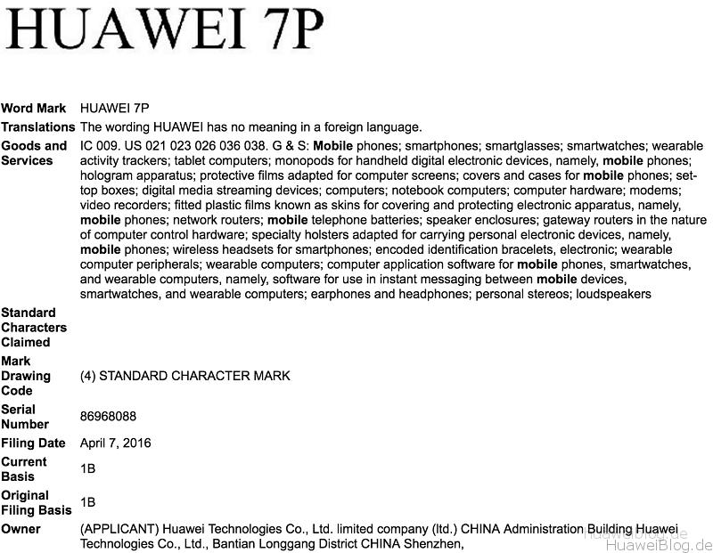 Huawei 7P Nexus