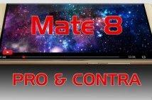 Huawei Mate 8 Pro Contra