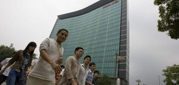 huawei-Mitarbeiter