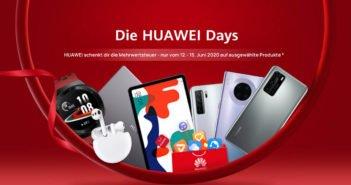 HUAWEI Days - 19 % MWSt geschenkt!