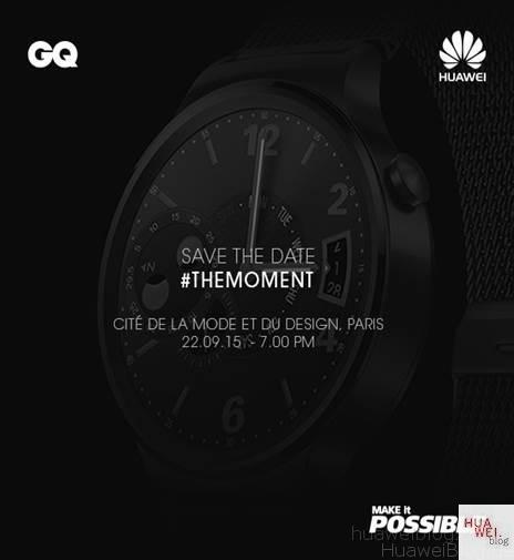 Huawei Watch Event Paris