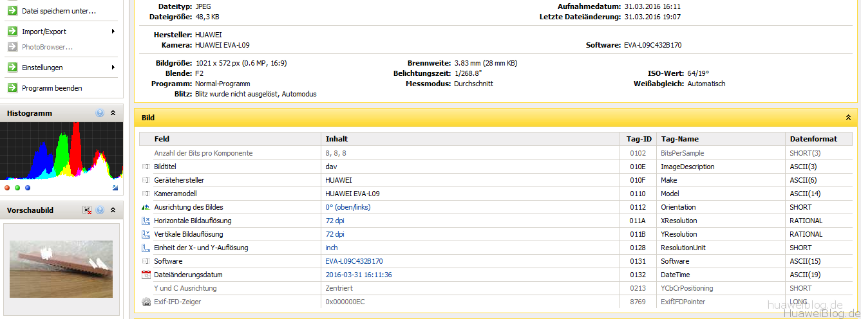 Huawei AX1 - Leak - EXIF