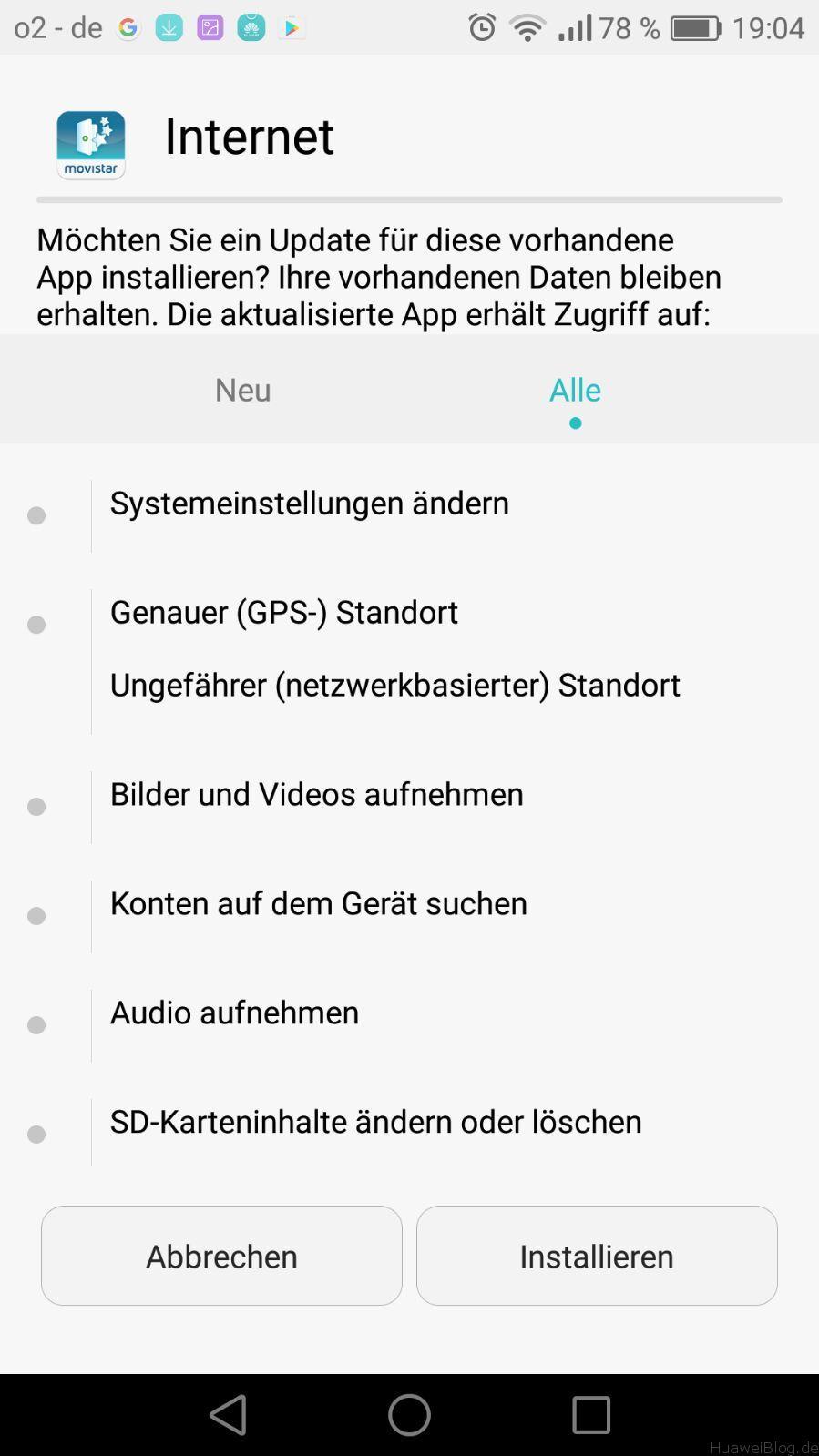 play store app wird nicht installiert