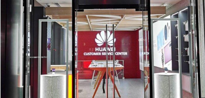 HUAWEI Experience Store Düsseldorf - Front