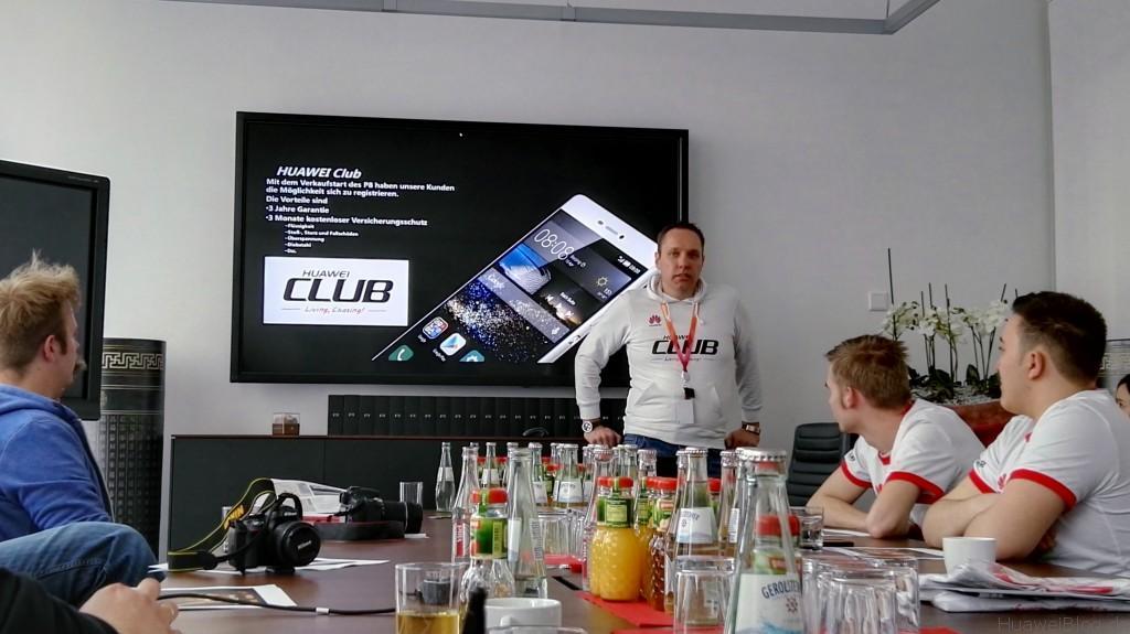 Huawei P8 Fan Event - Begrüßung durch Lars Keßler