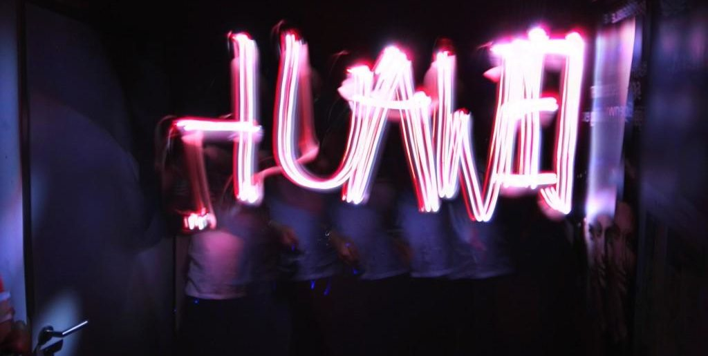 Huawei P8 Fan Event - Lichtmalerei