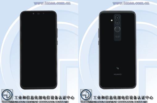 Huawei Mate 20 lite - Vorderseite - Rückseite
