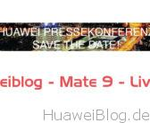 [Live] Huawei Mate 9 Launch Präsentation