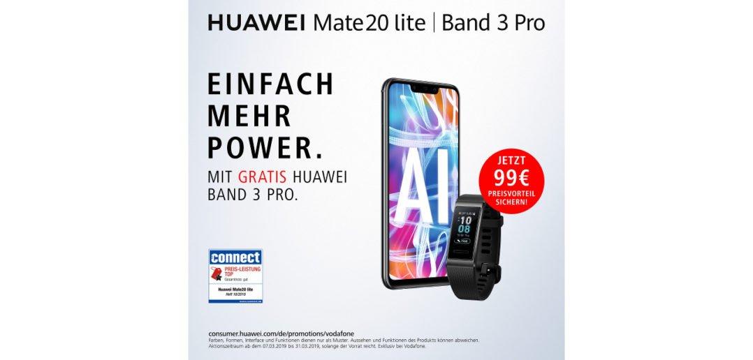 Huawei Mate 20 lite plus Band 3 pro gratis