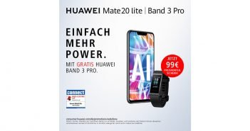 Huawei Mate 20 lite plus Band 3 pro gratis